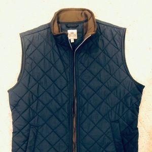 Peter Miller Navy and Brown vest size Medium